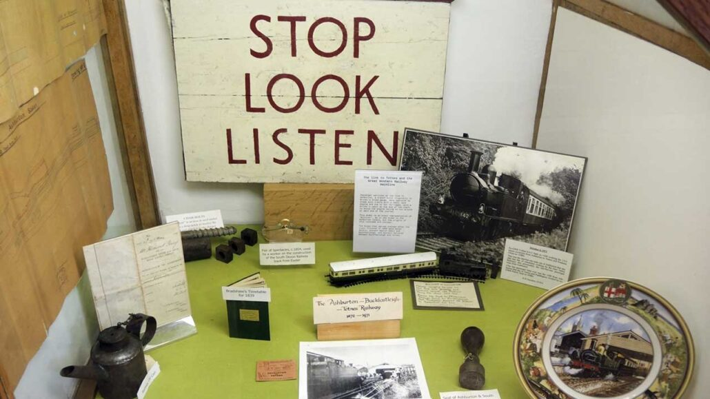 Stop, look and listen - The Ashburton History Museum working with VU Online