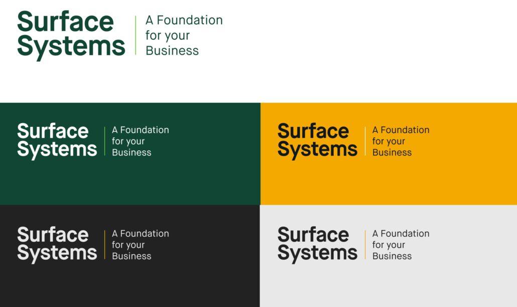 Surface Systems Brand Development